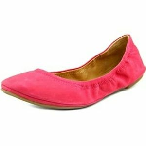 Lucky Brand Emmie Flat Hot Pink size 8
